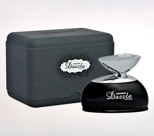 haramain dazzle intense eau de parfum for unisex bottle box