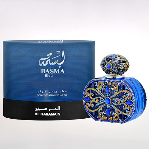 basma bleu concentrated perfume oil 20ml box bottle