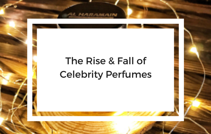 the rise and fall of celebrity perfumes blog featured image