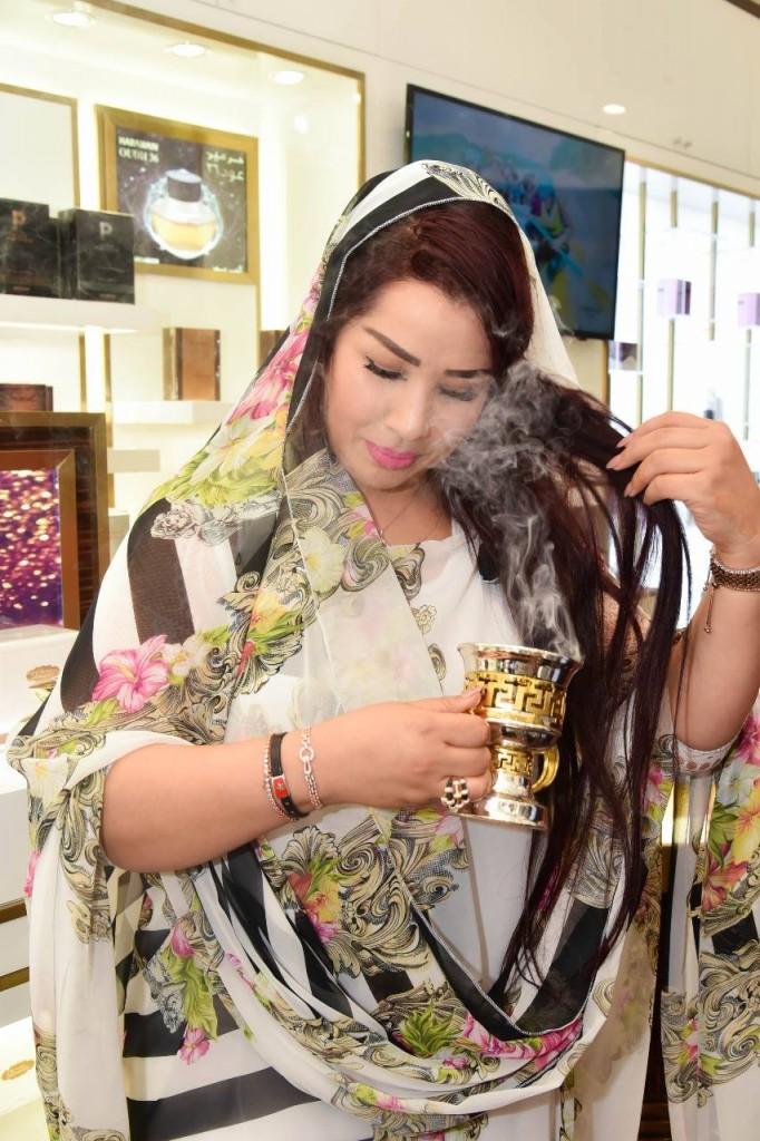 Saida Charaf at Al Haramain Perfumes Morocco