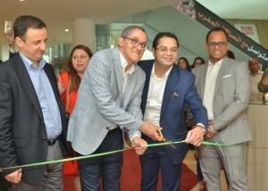 emadur rahman shibu cherian morocco mall showroom opening al haramain perfumes