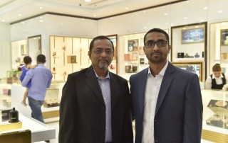 Arman Hazarika Head Customer Relationship Management Al Haramain Perfumes Dubai, At Seef Mall Bahrain Showroom Launch Event