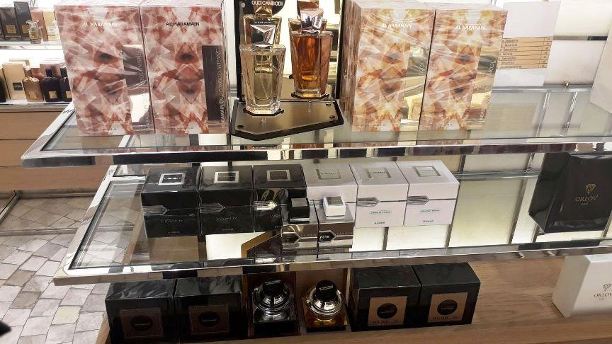 al haramain fragrances in galeries lafayette istanbul